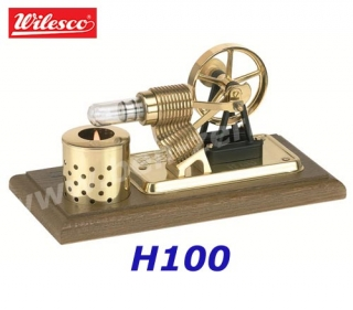 H100 Wilesco Sterlingův motor